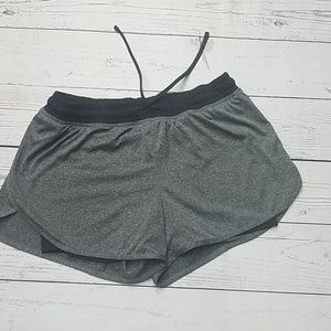 Champion shorts gray black bike